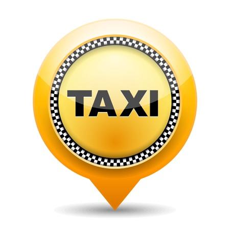 yellow taxi: Taxi icon