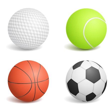 golfball: Sport Balls Illustration