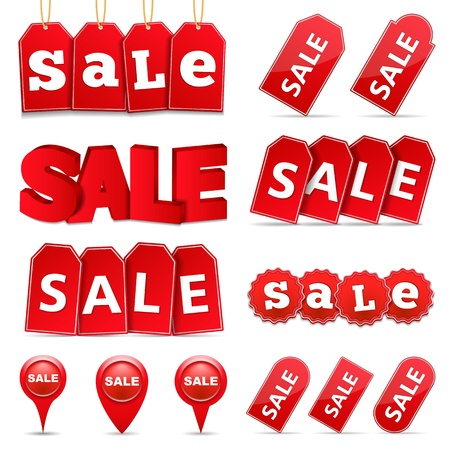 big sale: Sale Tags and Banners