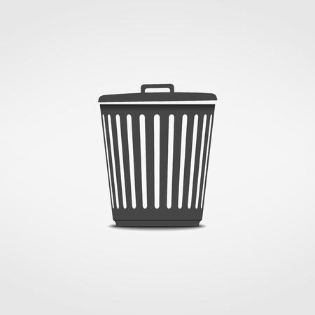 scrapyard: Trash can icon