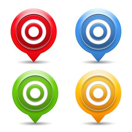 Targets Stock Vector - 23649948