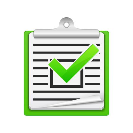 Check list icon Stock Vector - 24158261