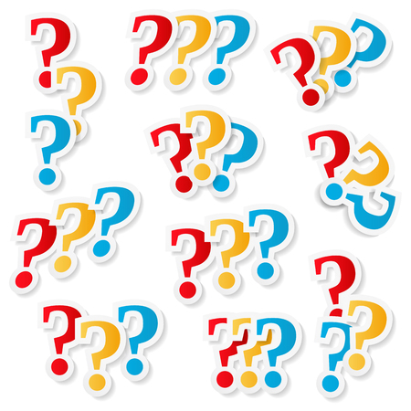 marks: Question Marks Illustration