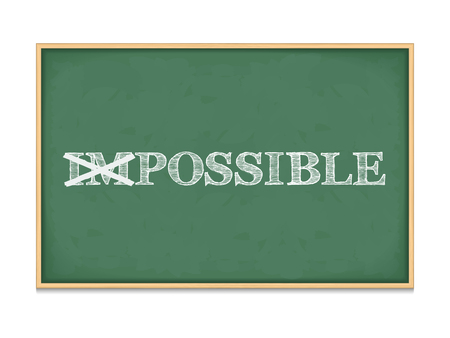 possible: The word impossible changed to possible