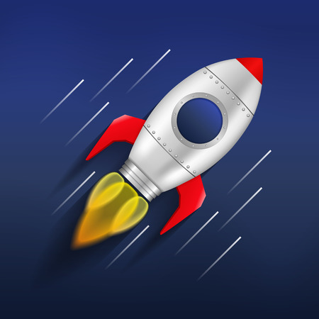 aerodynamics: Flying rocket in space