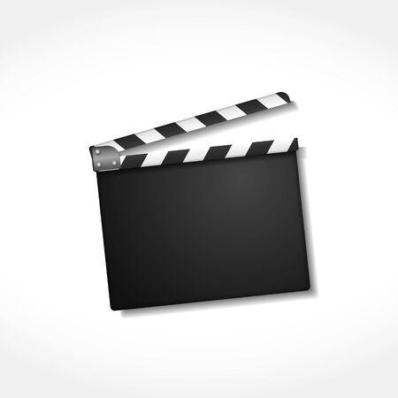cinema film: Clapper board Illustration