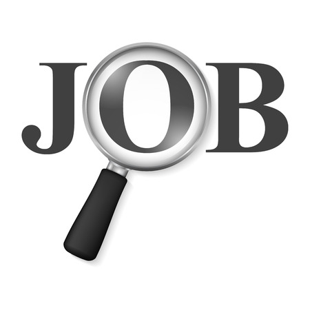 help wanted: Job search concept