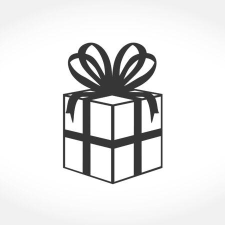 giftboxes: Gift box icon, vector eps10 illustration