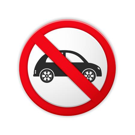 no parking: No parking prohibition sign