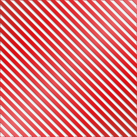 diagonal lines: Red and white striped background