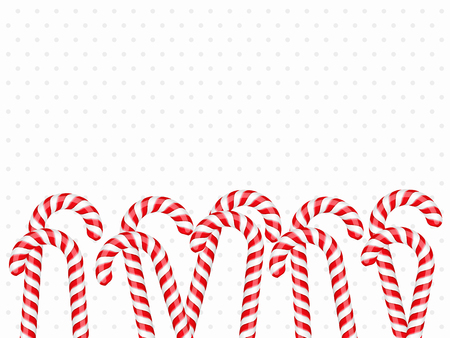 mint candy: Background with candy canes