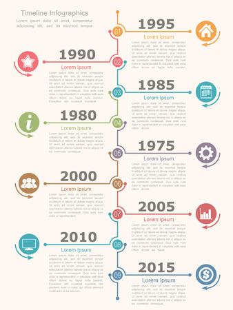 lineas verticales: Infografías están re plantilla de diseño