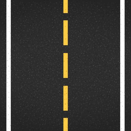 アスファルト道路マーキング、ベクトル イラスト eps10  イラスト・ベクター素材