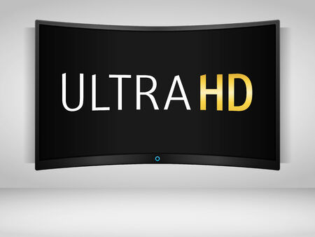 ultra: Ultra HD TV on the wall