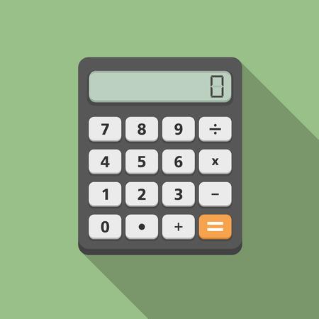 Calculator, flat design