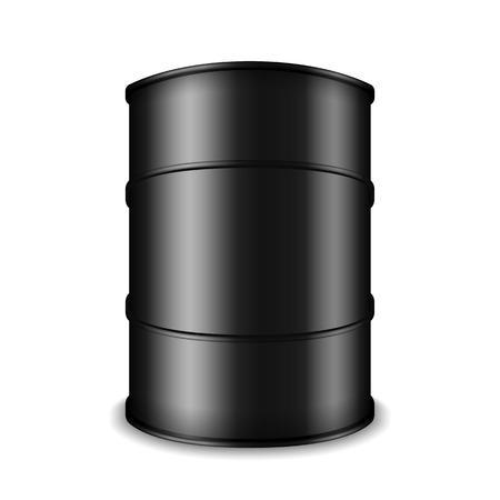 toxic barrels: Barrel of black oil