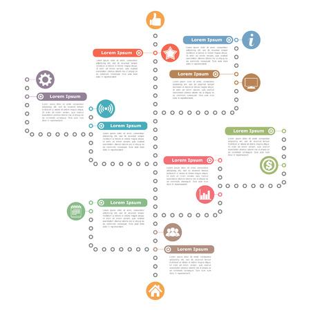 diagrama procesos: Árbol Plantilla Diagrama