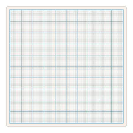 hoja cuadriculada: Graph Paper Vectores