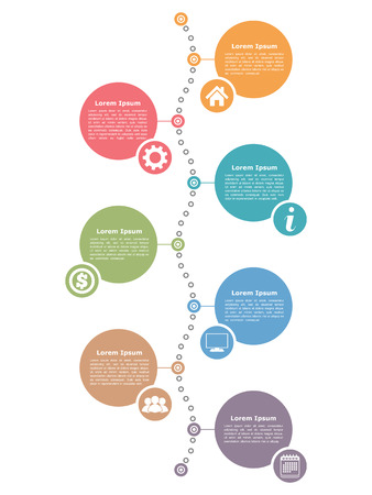 information point: Timeline infographics design template, workflow, diagram  layout