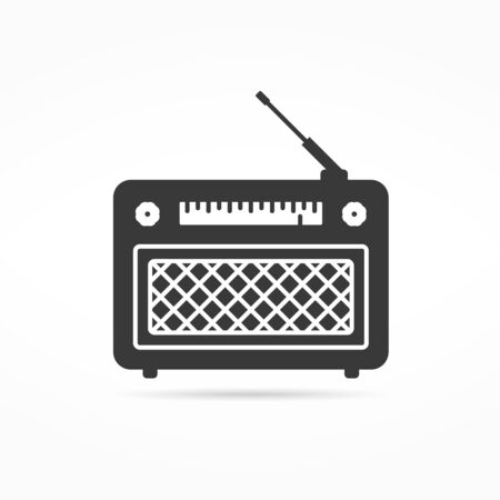 retro: Retro radio icon