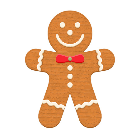 gingerbread cookie: Gingerbread man, traditional Christmas cookie