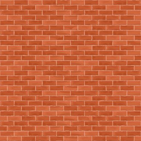シームレスな茶色の煉瓦壁の背景