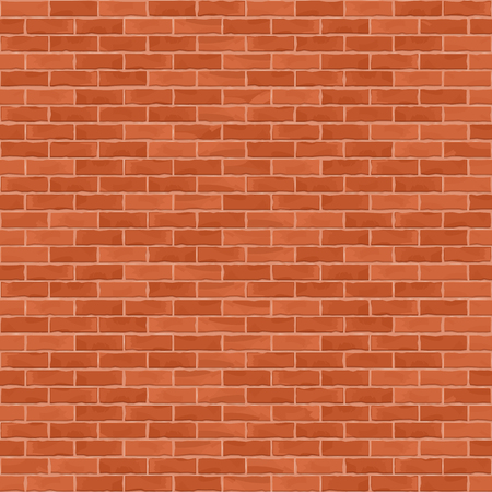 Seamless brown brick wall background