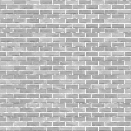 Bezproblemowa biały ceglany mur w tle