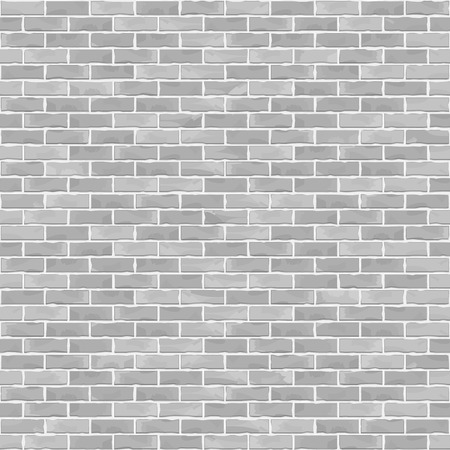 Seamless white brick wall background
