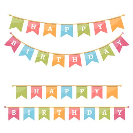 celebrate: Bunting for Happy Birthday.