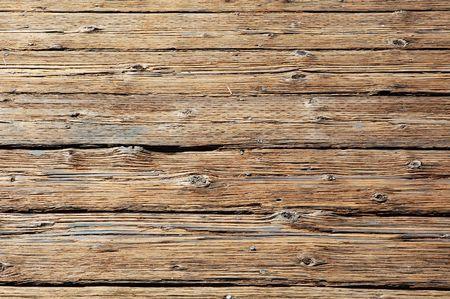 rundown: Rundown wooden floor