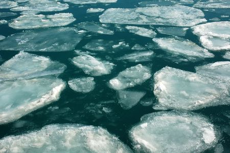 Ice field Stock Photo - 4708082