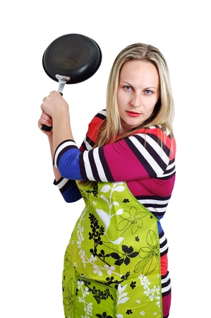Angry Woman Stock Photo - 14083221