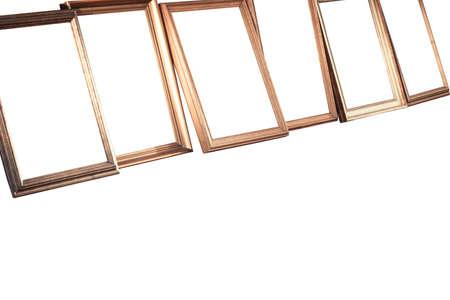 few: Few color iloslated frames