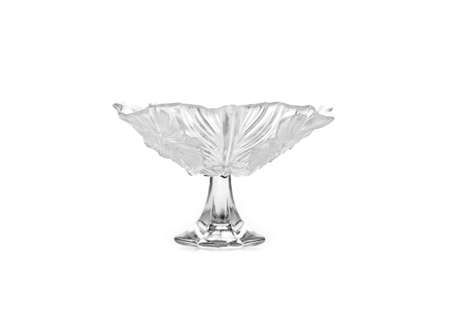 Cake stand isolated on white background. Copy space. photo