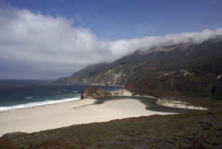 Landscape of a Big Sur Beach