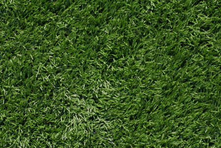 Full frame view of artificial turf football field Stock Photo