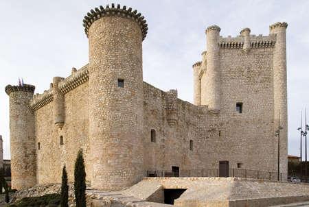 donjon: torija castle Stock Photo