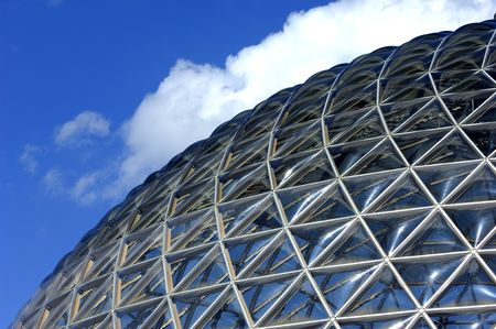 geodetic: Geodesic dome construction