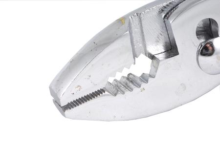Shiny metal pliers