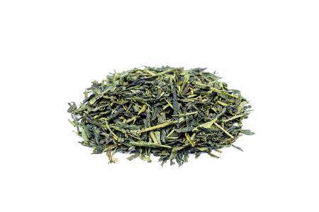 sencha tea: Heap of loose green tea Sencha