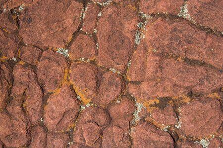 rock bottom: Texture made of a photo of dessert rock.