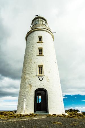 downunder: A lighthouse on Bruny Island, Tasmania