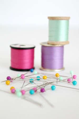 push: thread and push pins