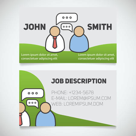 Business card print template with interview logo easy edit business card print template with interview logo easy edit manager journalist employer colourmoves