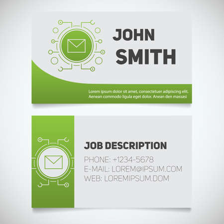 Business card print template with letter logo manager system business card print template with letter logo manager system administrator email security cheaphphosting Gallery