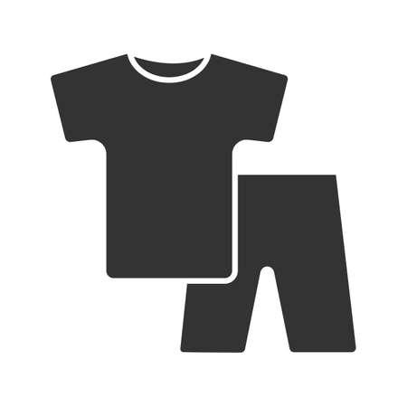 Nightwear glyph icon