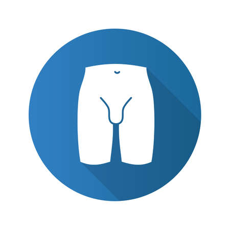 Male groin icon.