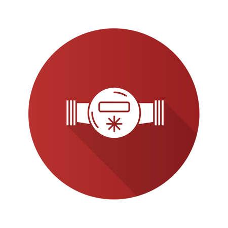 Water meter icon Illustration