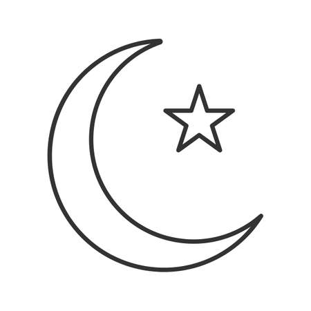 Outline Crescent Moon Pretty Picturesboss